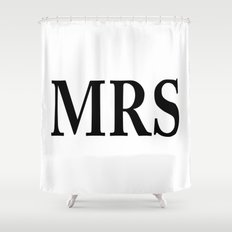 Mrs Shower Curtain
