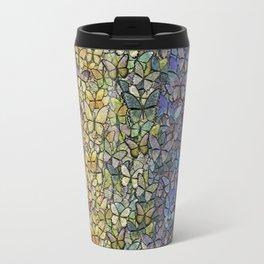 rainbow of butterflies aflutter Travel Mug