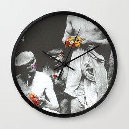 brighten up lads Wall Clock