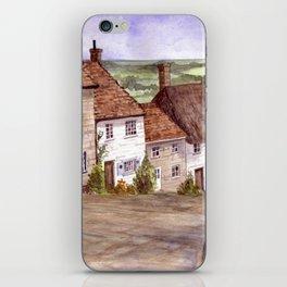 Golden Hill, Shaftesbury iPhone Skin