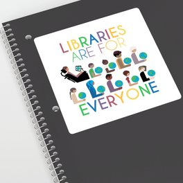 Rainbow Libraries Are For Everyone: Globes Sticker
