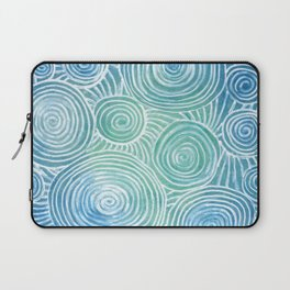 Blue Tint Abstract Laptop Sleeve