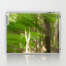 Green Feathers Laptop & iPad Skin