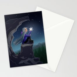 Girl who Stole a Star Stationery Cards