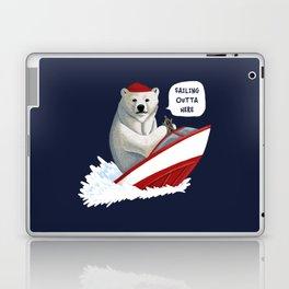 Sailing Outta Here Laptop & iPad Skin