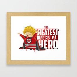 Greatest American Hero Framed Art Print