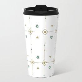 Jazzy Okami Pattern Travel Mug
