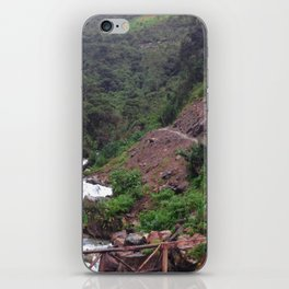 Alpine Bridge Adventure iPhone Skin