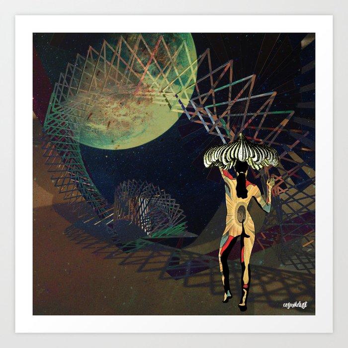 Deep Space Voyage 8 Art Print