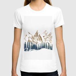 mountains 9 T-shirt