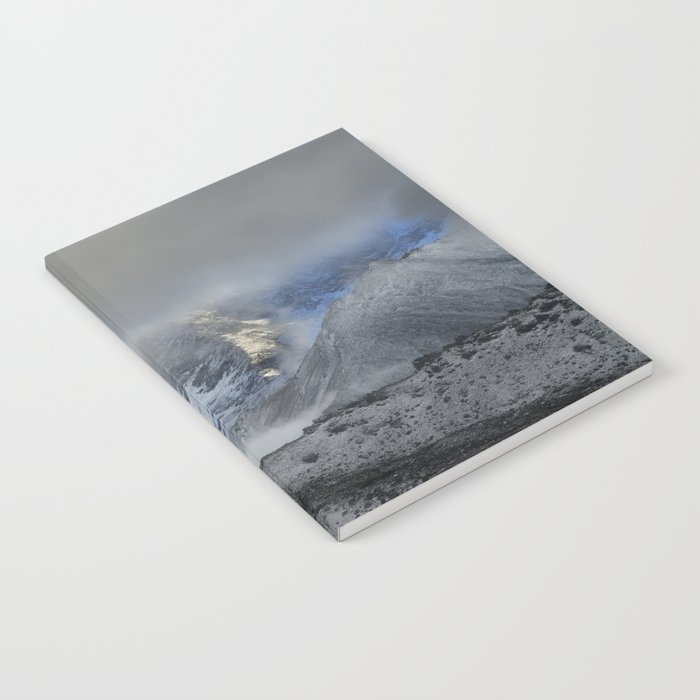 """""""Storm at the mountains"""" Wilderness Notebook"""