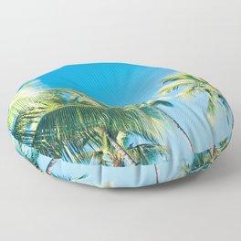 Aloha Hawaii Lahaina Palms Floor Pillow