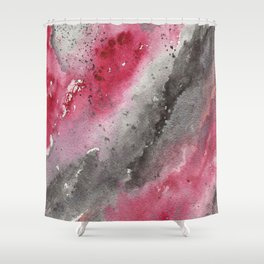 Scarlet Ashes Shower Curtain