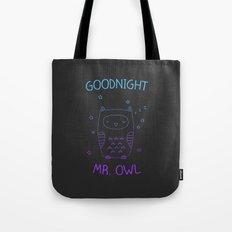 Goodnight Mr. Owl Tote Bag