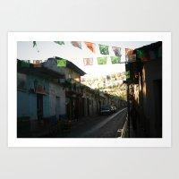 Chiapas 2 Art Print