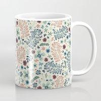 flora Mugs featuring Flora by Anna Deegan