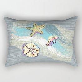 Starfish Beach-Comber Rectangular Pillow