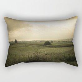 Country Morning Rectangular Pillow