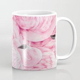 Elegant blush pink flamingo tropical bird pattern Coffee Mug