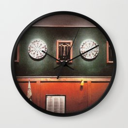 Dart Boards Wall Clock