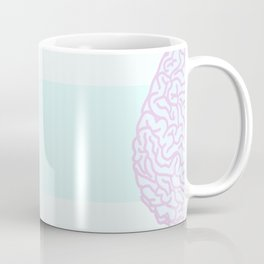 Pastel Brain Coffee Mug