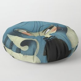 CURLY PAWS Floor Pillow