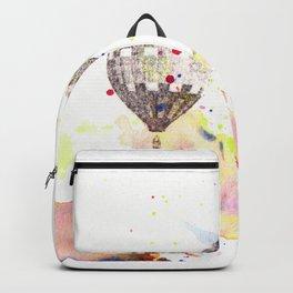 Hot Air Balloons Painting Backpack