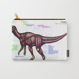 Eoraptor Muscle Study Carry-All Pouch