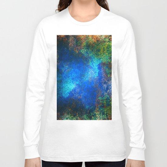 wall texture inside blues Long Sleeve T-shirt