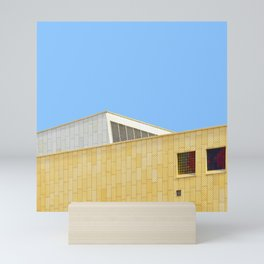 Roofline in Berlin - Abstract Minimalist Photography Art Print Mini Art Print