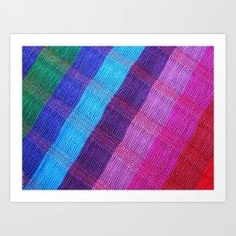 Mexican colors 2 Art Print