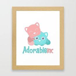 AdorableInc Framed Art Print