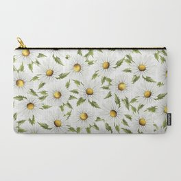 Chamomile field (white) Carry-All Pouch