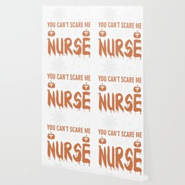 Halloween T-shirt You Can't Scare Me I'm a NURSE Wallpaper
