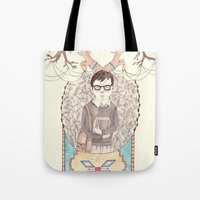imagination Tote Bags featuring Imagination by Brooke Weeber