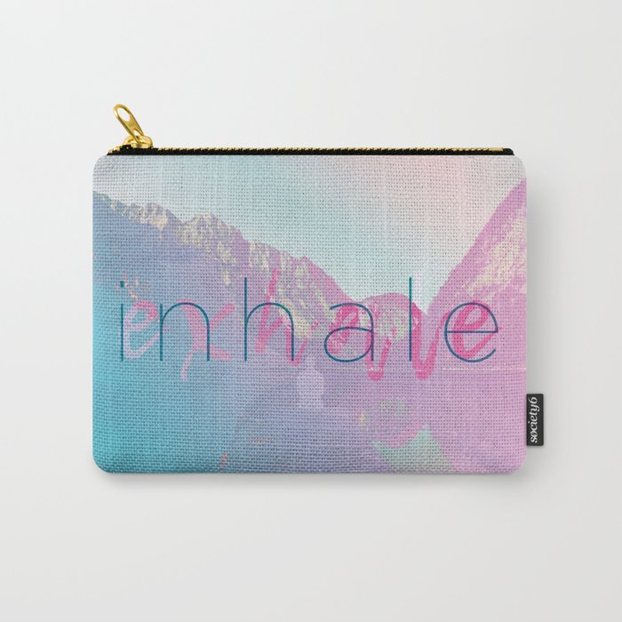 Inhale / Exhale Carry-All Pouch