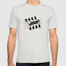 Rowing & Music Notes 8 T-shirt
