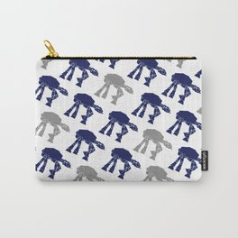 Navy and Gray AT-AT's Carry-All Pouch