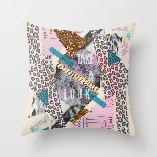 (DREAMER) Take A Look  Throw Pillow