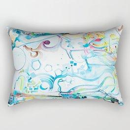 Fibroblasts - Watercolor Painting Rectangular Pillow