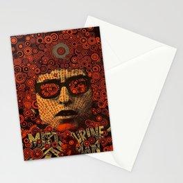 Vintage 1967 Bob Dylan British Concert Poster by Martin Sharp Stationery Cards