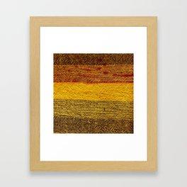 LIGNES Framed Art Print