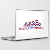 bastille Laptop & iPad Skins featuring Bastille Day by DFLC Prints