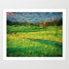 Division Landscape Art Print
