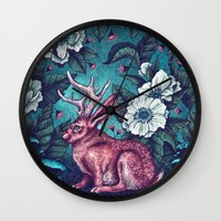 jack Wall Clocks featuring Jack by Angela Rizza