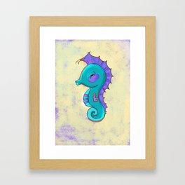 Horsefish Framed Art Print