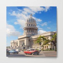 El Capitolio, Cuba Metal Print