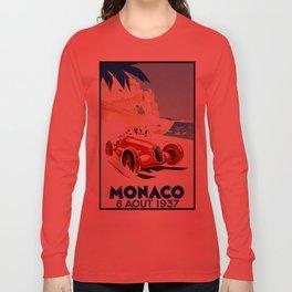 Monaco 1937 Grand Prix Long Sleeve T-shirt