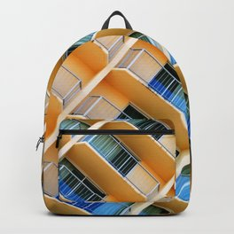 Scratchy Hotel Facade Backpack