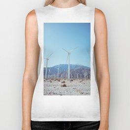Palm Springs Windmills IV Biker Tank